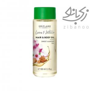 Love Nature Hair & Body Oil Sweet Almond Oil code:38907