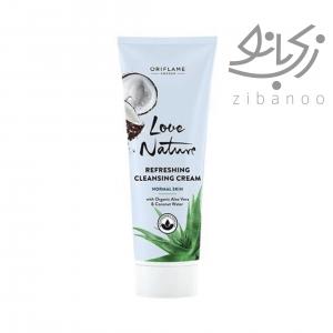 Refreshing Cleansing Cream with Organic Aloe Vera & Coconut Water code34819