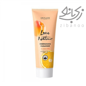 LOVE NATURE Energising Cleanser with Organic Apricot & Orange code:35910
