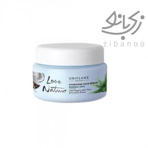LOVE NATURE Hydrating Face Cream with Organic Aloe Vera & Coconut code:34821