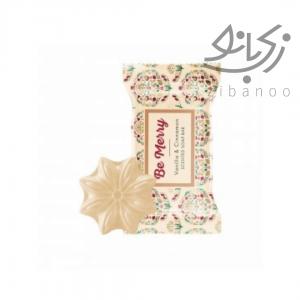 Be Merry Vanilla & Cinnamon Scented Soap Bar code:35147