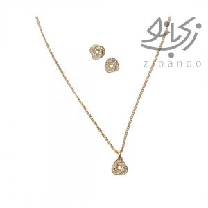 Sharing Knot Jewellery Set code: 38409